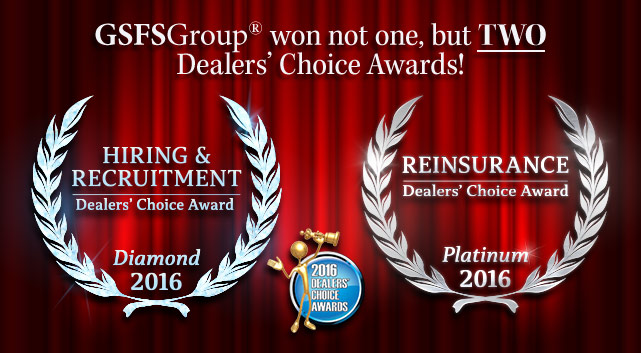 Congratulations to GSFSGroup for Winning Two Dealers' Choice Awards