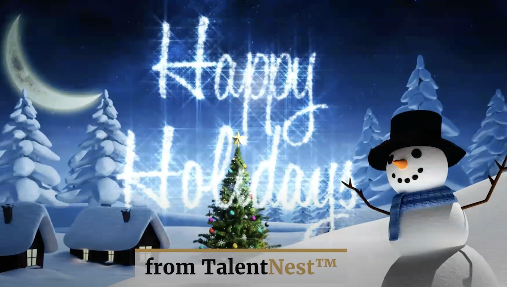 Happy Holidays from TalentNest